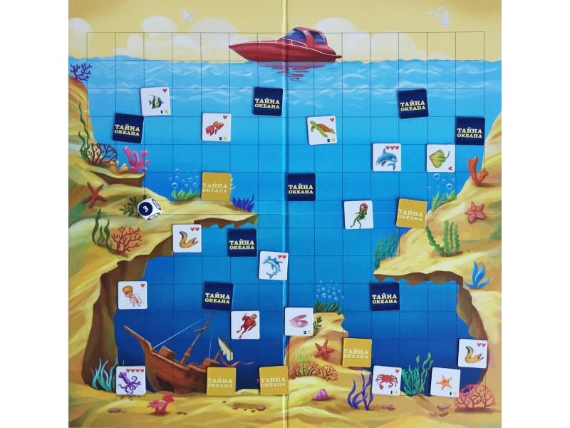 Настольная игра Тайна океана